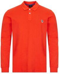 Paul Smith - Long Sleeve Polo Shirt - Lyst