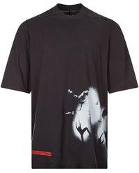 Rick Owens DRKSHDW T-shirt Jumbo - Black