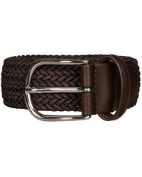 Andersons Woven Belt - Brown