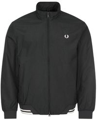 Fred Perry Brentham Jacket - Black
