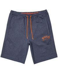 BOSS - Athleisure Shorts Headlo – Blue - Lyst