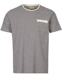 Oliver Spencer T-shirt Envelope Pocket - Blue
