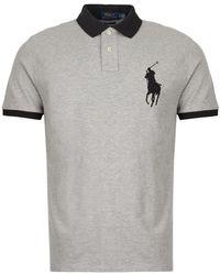 Ralph Lauren Polo Shirt - Gray