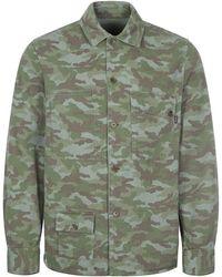 Paul Smith Reversible Overshirt - Green