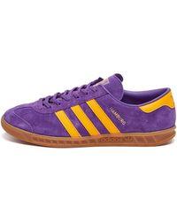 adidas Hamburg Trainers - Purple