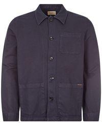 Nudie Jeans Jacket Worker - Blue