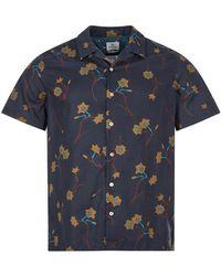 Paul Smith Short Sleeve Shirt - Blue