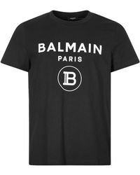Balmain Flock T-shirt - Black