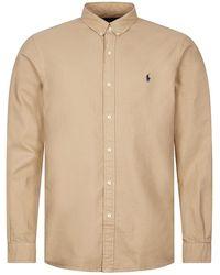 Ralph Lauren Oxford Surrey Shirt - Brown