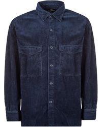 Edwin Corduroy Shirt - Blue