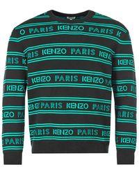 KENZO Sweater – Black / Green