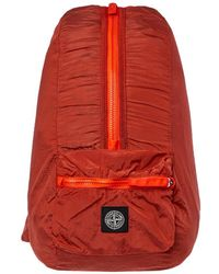 Stone Island Rucksack Nylon Metal - Orange