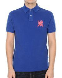 Ralph Lauren Slim Fit Polo Shirt - Blue