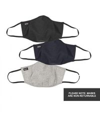 BOSS by Hugo Boss Face Masks Three Pack - Black