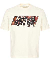 Lanvin T-shirt Logo - Multicolour