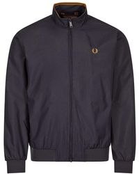 Fred Perry Brentham Jacket - Blue