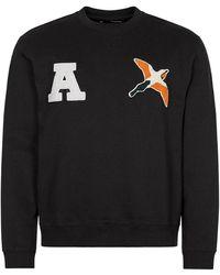 Axel Arigato Varsity Bee Bird Sweatshirt - Black