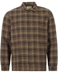 Folk Shirt - Brown