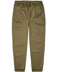 Fred Perry Trousers Drawstring - Green