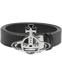 Vivienne Westwood Belt Line Orb - Black
