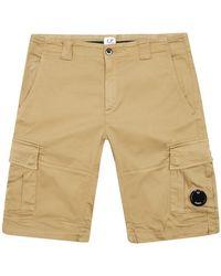 C.P. Company Bermuda Shorts Cornstalk - Natural