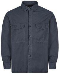 Edwin Big Shirt - Blue