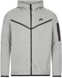 Nike Sportswear Tech Fleece Hoodie - Gray