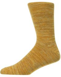 Folk Socks Melange - Orange