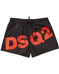 DSquared² Swim Shorts Dsq2 - Black
