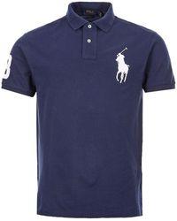 Ralph Lauren Varsity Polo Shirt - Blue