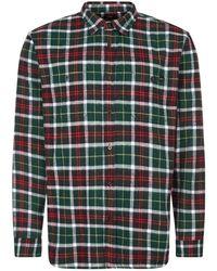 Edwin Labour Flannel Shirt - Green