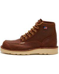 Danner Bull Run Moc Toe Boots - Brown