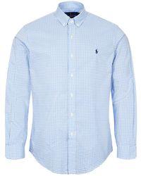 Ralph Lauren Shirt Gingham - Blue