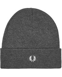 Fred Perry Beanie - Grey
