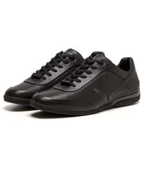 BOSS by HUGO BOSS Saturn Low Top Trainers - Black