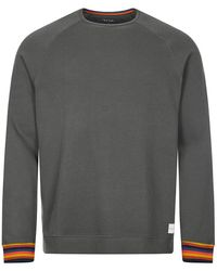 Paul Smith Long Sleeve Tee Shirt - Grey