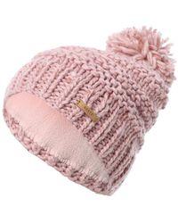 Barts Bommelmütze mit Melange-Effekt - Pink