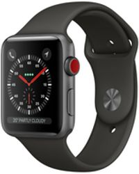 Apple - Watch Series 3 Gps 38mm Aluminium Case Space Grey With Sport Band - Lyst