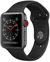 Apple - Watch Series 3 Gps 38mm Aluminium Case Space Grey With Black Sport Band - Lyst