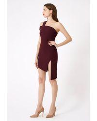 AQ/AQ - Candice One Shoulder Mini Dress - Lyst