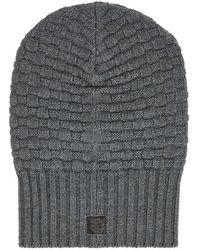 Aquatalia Chunky Knit Hat - Gray