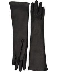 Aquatalia Leather Glove - Black
