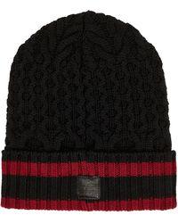 Aquatalia Multi Knit Hat - Black