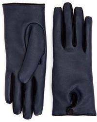 Aquatalia Driving Glove - Blue