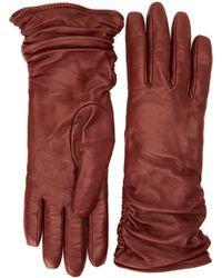 Aquatalia Petra Glove - Brown
