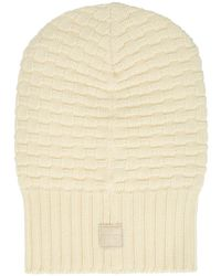 Aquatalia Chunky Knit Hat - White