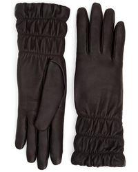 Aquatalia Mid Length Glove - Brown