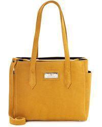 Aquatalia Astoria - Suede - Made - Yellow