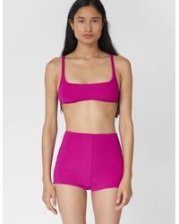 Araks Quinn Bikini Top Magenta - Purple