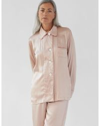 Araks Kate Pajama Top Bare Silk - Pink